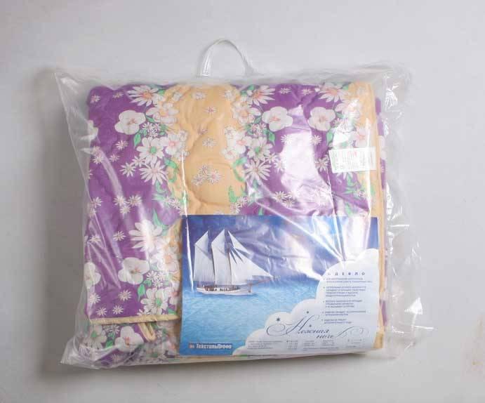 Одеяло стеганное  шерсть облегченное